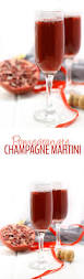 red martini splash pomegranate champagne martini the healthy maven