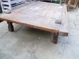 large vintage coffee table large antique rustic low coffee table antiques atlas