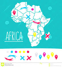 World Map With Pins by World Travel Map With Pins Flat Design Vector Stock Image Hand