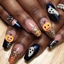 3d nail art halloween image collections nail art designs
