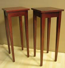 shaker sofa table plant stand