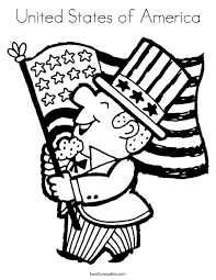 United States Of America Coloring Page Twisty Noodle Coloring Pages Usa