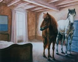 chambre cheval fille stickers chevaux pour chambre fille 8 deco chambre cheval