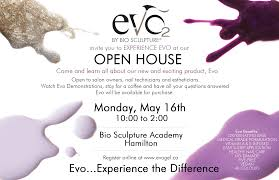 evo experience event post card fb bio sculpture gel canada