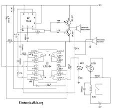 automatic door bell with object detection circuit automatic