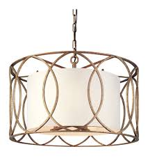 gold ceiling light fixtures troy lighting f1285sg sausalito 5 light 25 inch silver gold