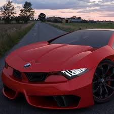 cool bmw concept car love the paint color my 66 mustang