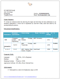 Software Engineer Resume Template Over 10000 Cv And Resume Samples With Free Download Software