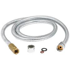 Kitchen Faucet Hose Delta Style 59 U2033 Chrome Hose Assembly For Gourmet Kitchen Faucet