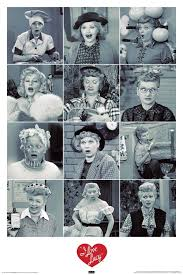 Lucille Ball I Love Lucy Amazon Com Nmr 241087 I Love Lucy Text Decorative Poster Prints