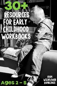best workbooks to purchase for early childhood preschool resources