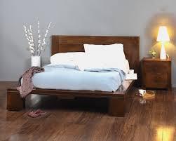 solid mango wood king size bed frame casa bella furniture uk