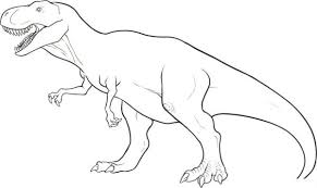 free coloring dinosaur printable coloring pages