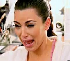 Kim Kardashian Crying Meme - image o kim kardashian ugly crying face facebook jpg yandere