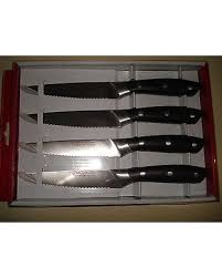 bargains on brandani grand chef 4 piece italian style inox steak