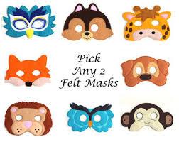 lion mask for kids kids masks etsy