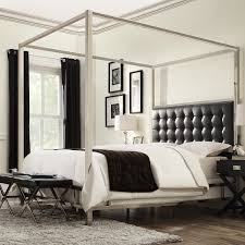 Black King Canopy Bed Bedroom King Canopy Bed Canopy Bed Online India Canopy Bed