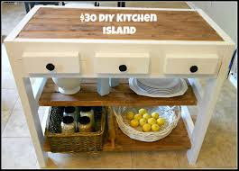 building a kitchen island with cabinets 30 diy kitchen island in city