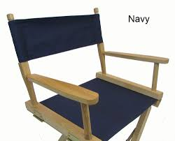 Patio Furniture Foot Caps by Gold Medal Replacement Cover Canvas For Directors Chair Round Stick