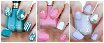 spring nail trends and a nail art tutorial glamour zine
