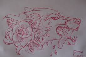 tattoos for traditional wolf outline getattoos us
