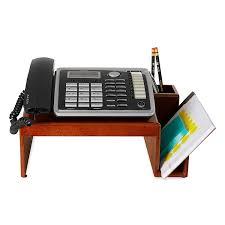 telephone stand desk organizer amazon com rolodex wood tones mahogany phone stand 1734646