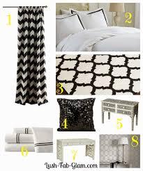 lush fab glam blogazine stunning black u0026 white home decor