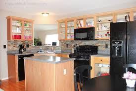 Kitchen No Cabinets Display Kitchen Cabinets Without Doors Kitchen