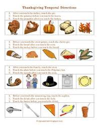 temporal directions thanksgiving pdf following directions