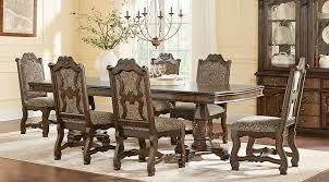 carpathian cherry rectangle 5 pc dining room dining room sets