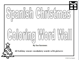 spanish words colouring pages 37 images spanish