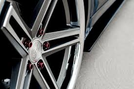 lexus rims with tires concept one cs 55 wheels matte gunmetal with brushed face and