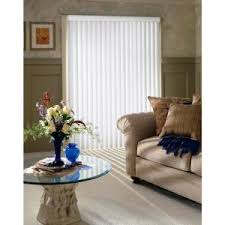 How To Shorten Vertical Blinds To Fit Window Bali Cut To Size 3 5 In W X 96 In L White Crown 3 5 Vertical