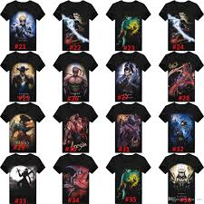 3d t shirt cheap lol league of legends printed top