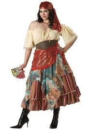 Gypsy Halloween Costumes Fortune Teller Renaissance Woman Gypsy Costume Idea Size