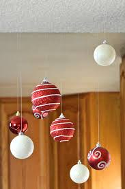 Hanging Decoration For Christmas by Christmas Decor Floating Ornaments Revamperate