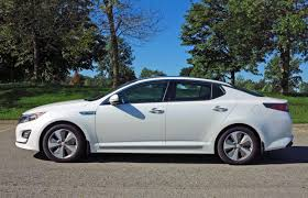 car review 2014 kia optima hybrid ex premium driving