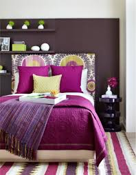 bedroom endearing purple and brown bedroom decoration using dark