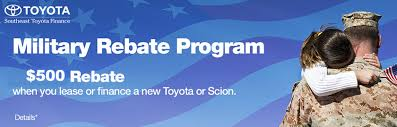 toyota financial services phone military rebate program newton toyota