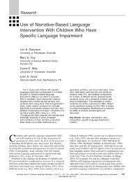 modification si e social association use of narrative based language pdf available