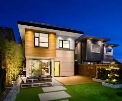 exterior design wooden floor in great energy efficient home