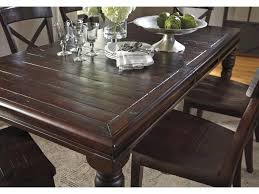Solid Wood Dining Room Tables Signature Design By Ashley Gerlane Solid Pine Rectangular Dining