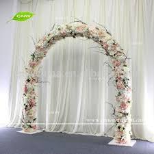 wedding arch entrance gnw flwa1707013 artificial flower wedding arch event decoration