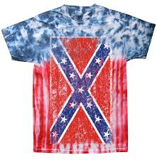 Why The Confederate Flag Is Offensive Tie Dye Distressed Confederate Flag Mens T Shirt