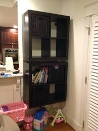 Shelves For Vans by Led Floating Wall Cube Box Shelf Shelves Black White Oak Mahogany