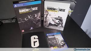 siege jeux jeux ps4 rainbow six siege edition collector l du siege a