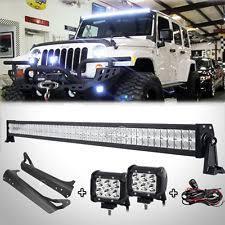 led light bar jeep wrangler jeep tj light bar ebay