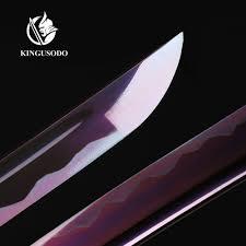 Katana Kitchen Knives Battle Ready Katana Sharp Samurai Katana Sword Real Handmade 1045
