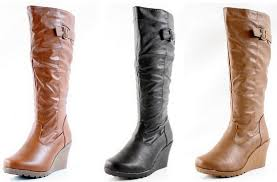 womens boots on amazon amazon s wedge fall boots from 17 99 free shipping reg