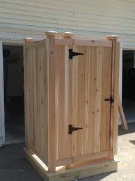 outdoor bathrooms ideas bathroom design outdoor wooden shower stall kits for rustic